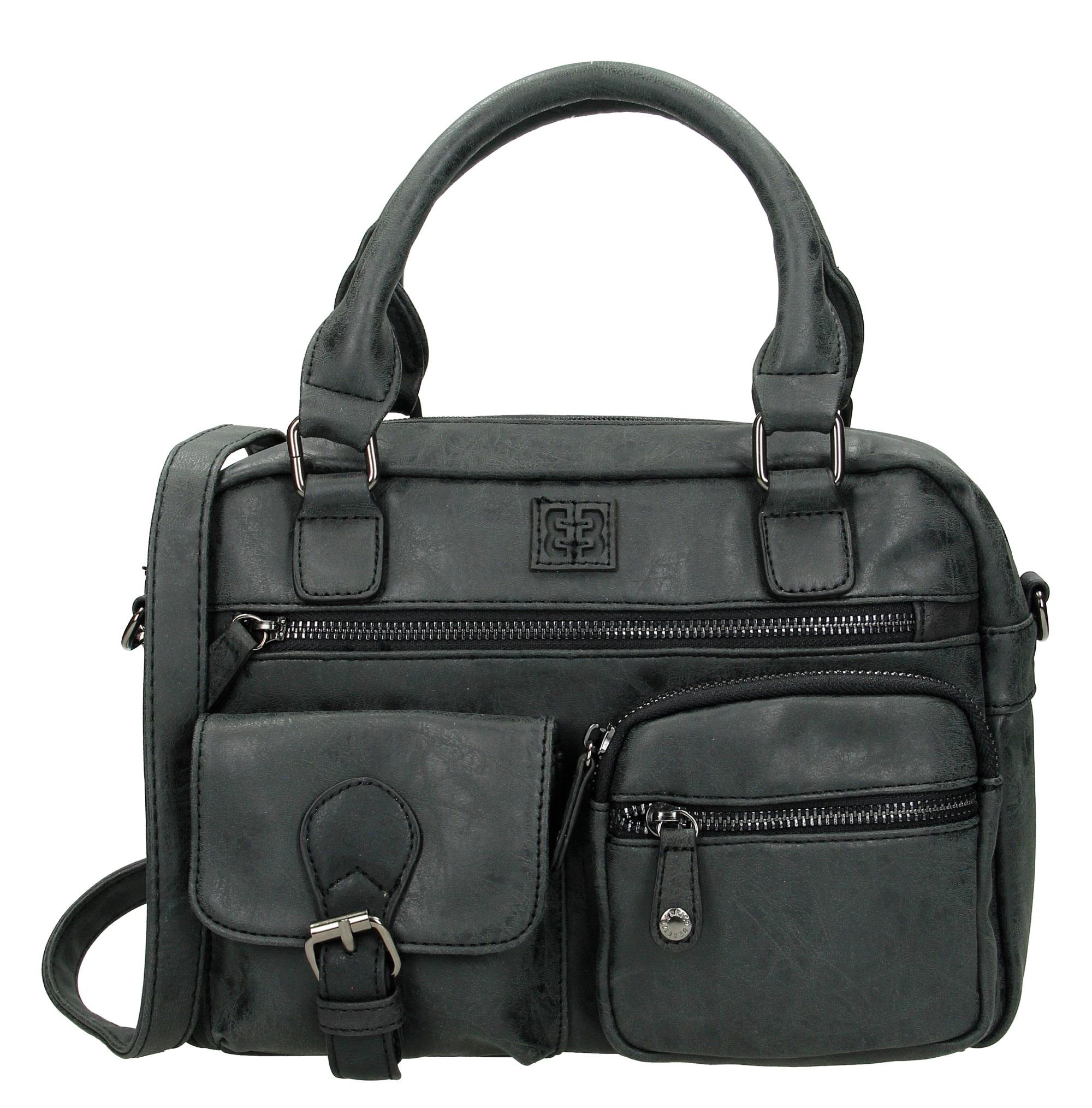 5353172800d enrico benetti dames tas zwart - JvS Bags