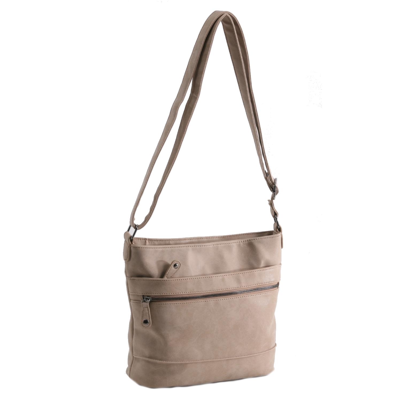 b3571019b8d just dreamz dames tas taupe - JvS Bags